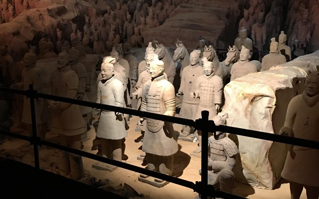 ¡Excursión para visitar a los Soldados de Terracota!