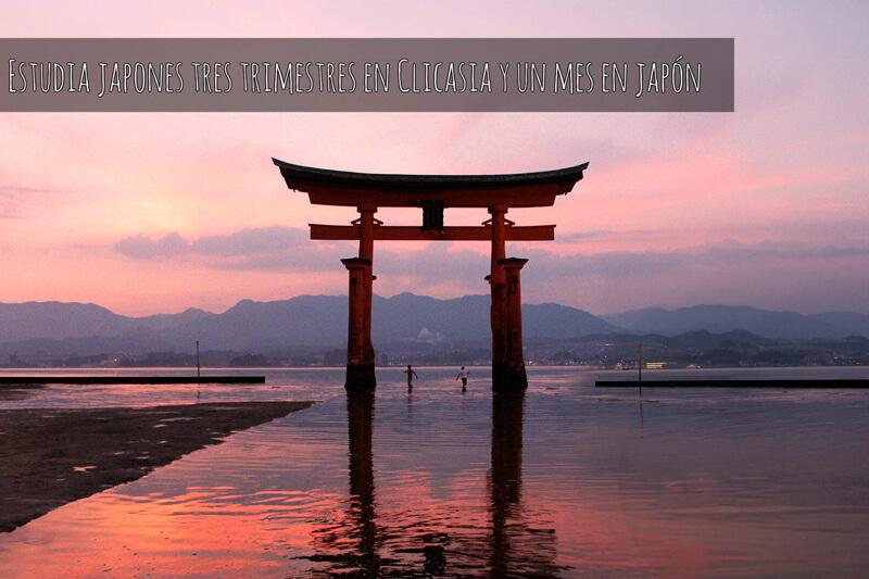 Estudia japonés tres trimestres en ClicAsia y un mes en Japón
