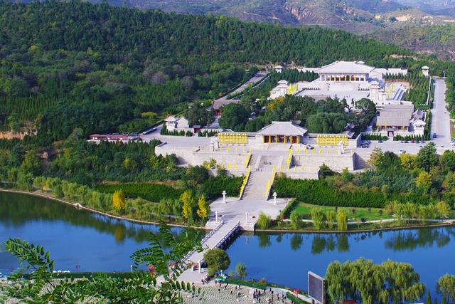 Mausoleo del Emperador Amarillo - foto: Wikipedia